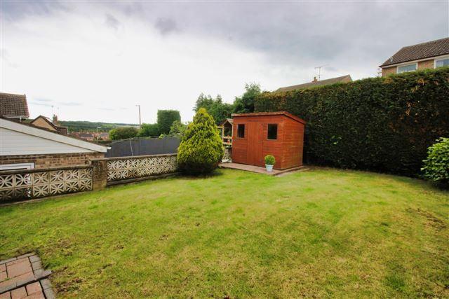 Rear Garden of Finch Rise, Aston, Sheffield S26