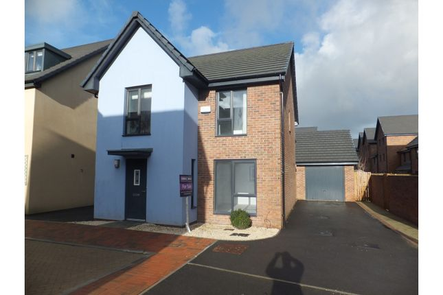 Detached house for sale in Baruc Way, Barry