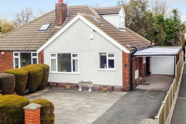 Thumbnail Semi-detached bungalow for sale in Crag Hill Avenue, Cookridge, Leeds
