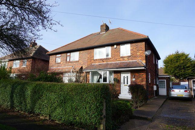 Thumbnail Semi-detached house for sale in St. Vincent Avenue, Woodlands, Doncaster