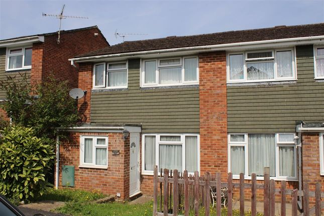 Thumbnail End terrace house to rent in Woodside Close, Bordon