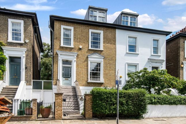 Thumbnail Semi-detached house for sale in Rochester Square, Camden, London