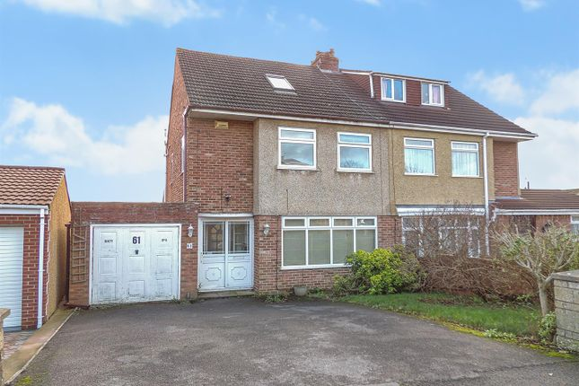 Thumbnail Semi-detached house for sale in Stanhope Road, Longwell Green, Bristol