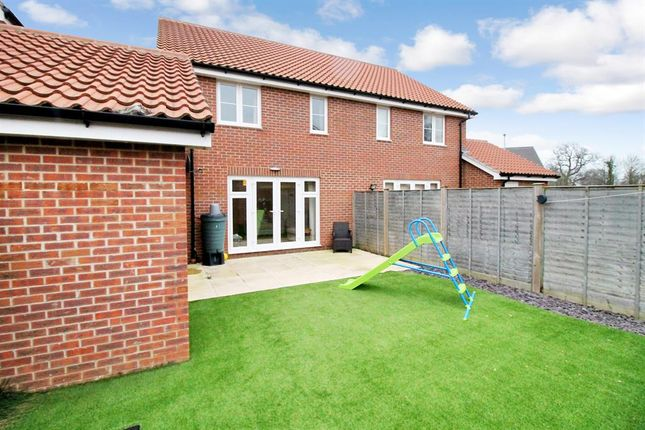 Thumbnail Semi-detached house for sale in Willowcroft Way, Cringleford, Norwich
