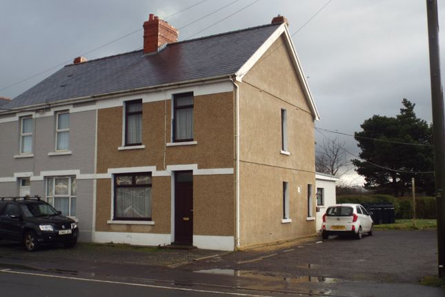 3 bed semi-detached house for sale in Cross Hands Road, Gorslas, Llanelli