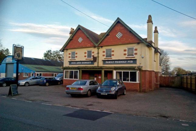 Thumbnail Pub/bar for sale in Knowle, Budleigh Salterton, Devon