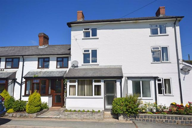 Thumbnail Terraced house for sale in 6, Step A Side, Mochdre, Newtown, Powys