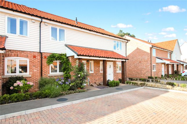 Thumbnail Terraced house for sale in Waterside Drive, Ditchingham, Bungay