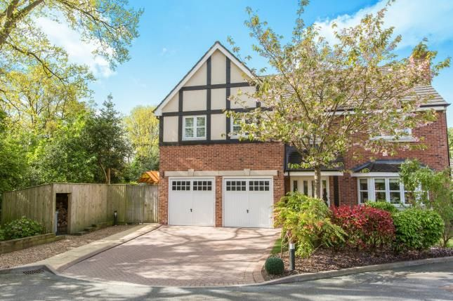Thumbnail Detached house for sale in The Grange, Congleton, Cheshire