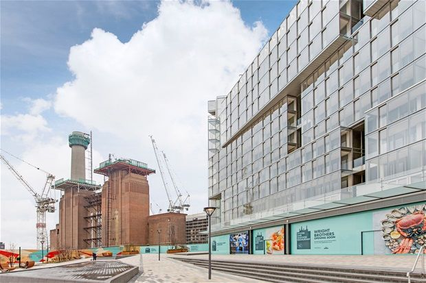 Thumbnail Property for sale in Foster Building, Studio Apartment. Battersea Power