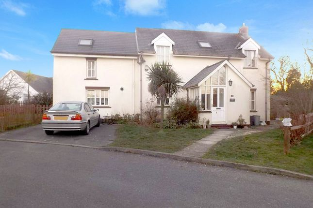 Thumbnail Detached house for sale in Parc Yr Eglwys, Dinas Cross, Newport, Pembrokeshire