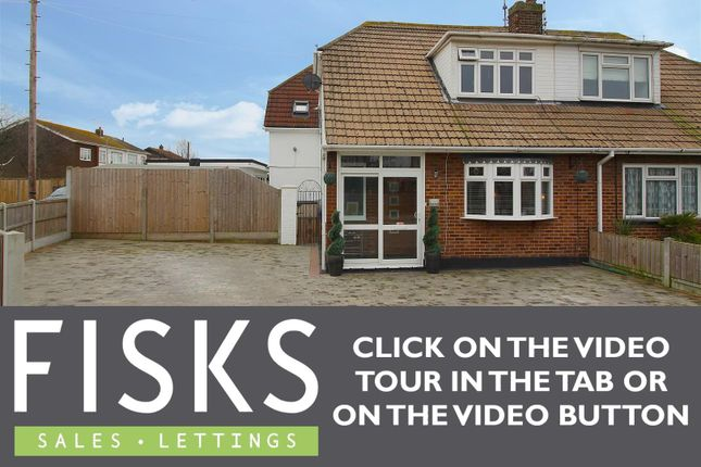 Semi-detached house for sale in South Parade, Canvey Island