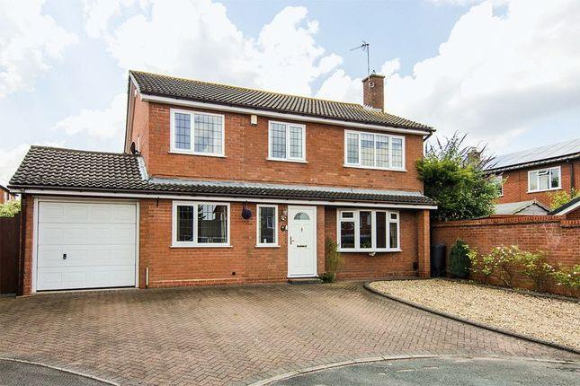 Thumbnail Detached house for sale in Alder Close, Boley Park, Lichfield