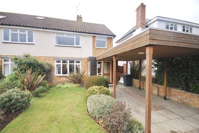 Thumbnail Semi-detached house for sale in Beachs Drive, Chelmsford, Essex