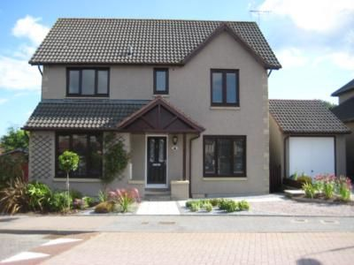 Thumbnail Detached house to rent in Wellside Road, Kingswells