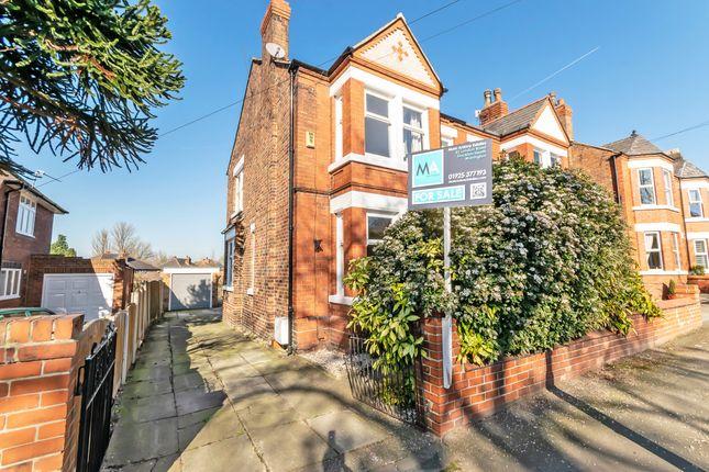 Thumbnail Semi-detached house for sale in Chester Road, Stockton Heath, Warrington
