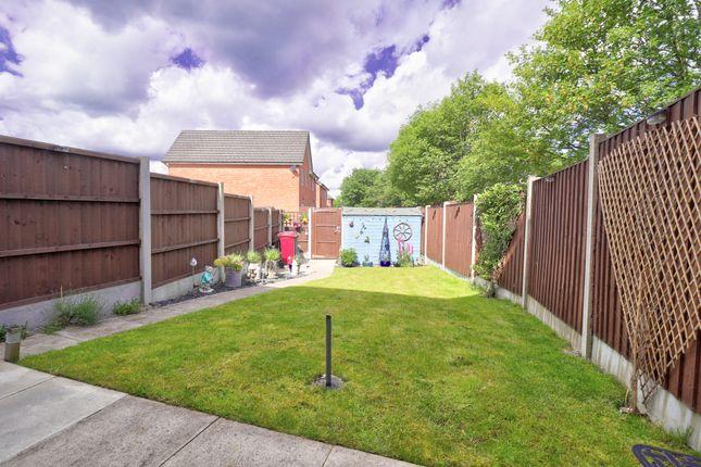 Garden of Shorrock Lane, Blackburn BB2