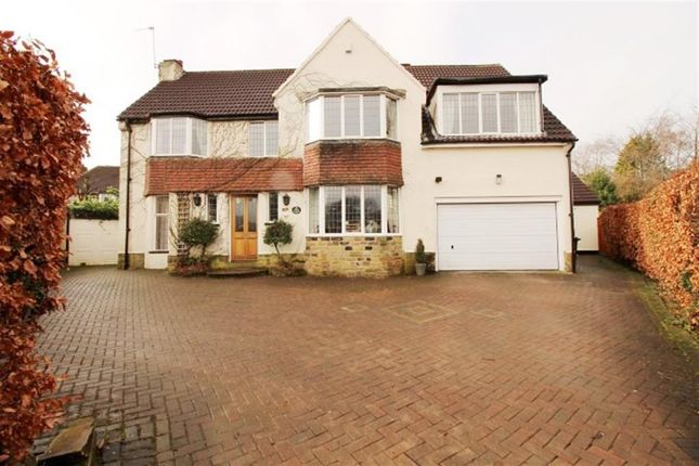 Thumbnail Detached house for sale in Shortway, Woodhall, Pudsey