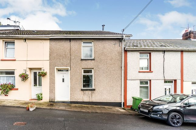 Thumbnail Terraced house for sale in Middle Row, Cwmpennar, Mountain Ash