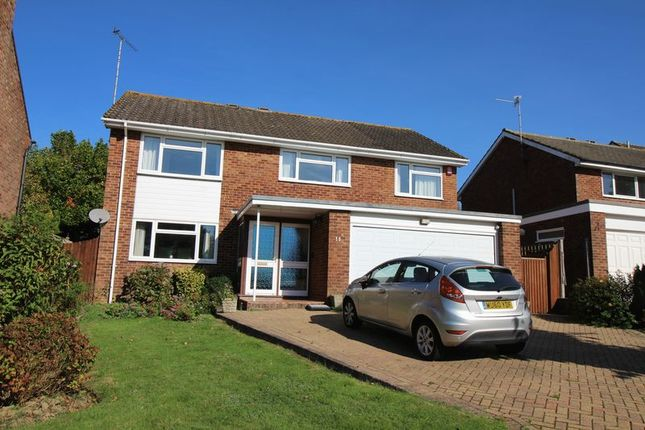 Thumbnail Detached house for sale in Hillside Close, Crawley
