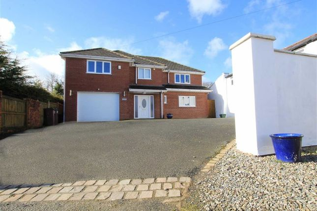 Thumbnail Detached house for sale in Mertyl Lane, Pen Y Maes, Flintshire