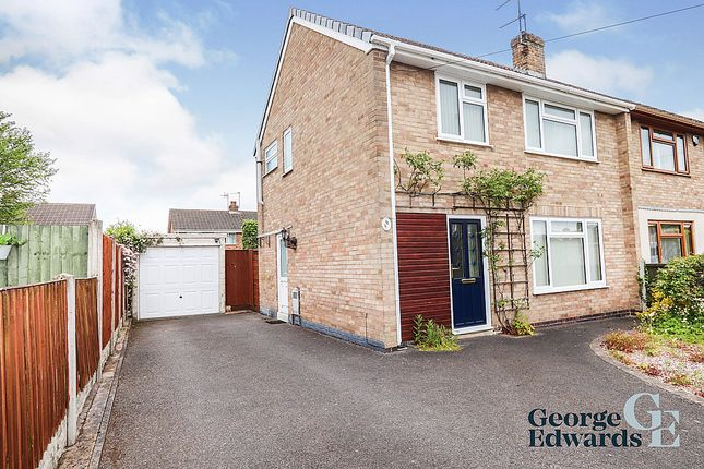 Thumbnail Semi-detached house for sale in Byron Crescent, Measham