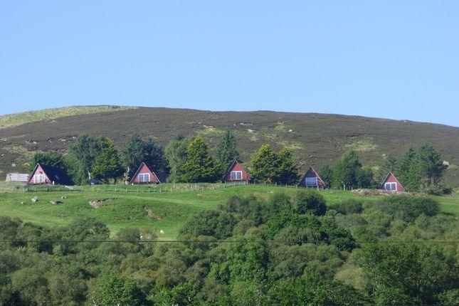Thumbnail Leisure/hospitality for sale in Highland Glen Lodges, Inchcape, Rogart, Sutherland
