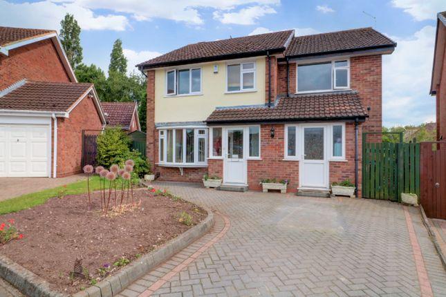 Thumbnail Detached house for sale in Deerham Close, New Oscott, Erdington