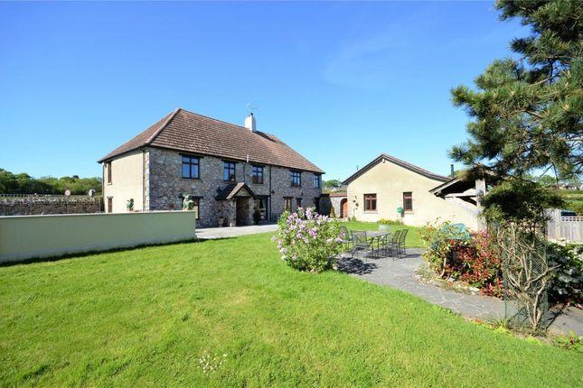 Thumbnail Detached house for sale in Liverton, Newton Abbot, Devon
