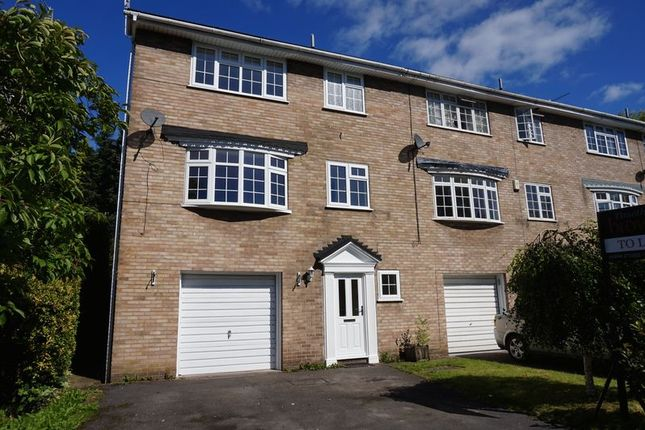 Thumbnail Town house to rent in Berkshire Drive, Congleton