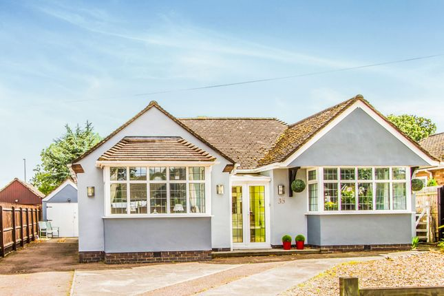 Thumbnail Detached bungalow for sale in Greenmoor Road, Burbage, Hinckley