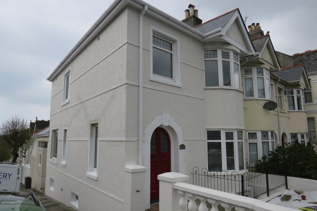 Thumbnail End terrace house for sale in Peverell Park Road, Peverell, Plymouth