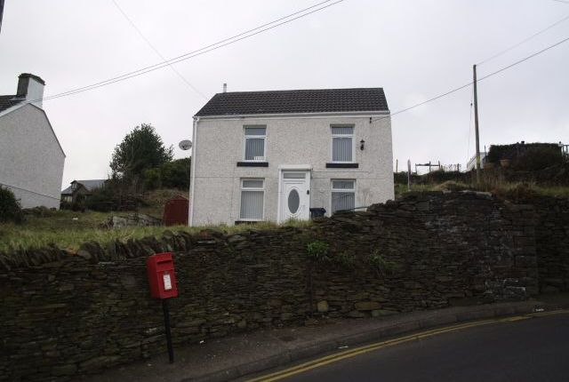 Thumbnail Detached house for sale in Upper High Street, Bedlinog