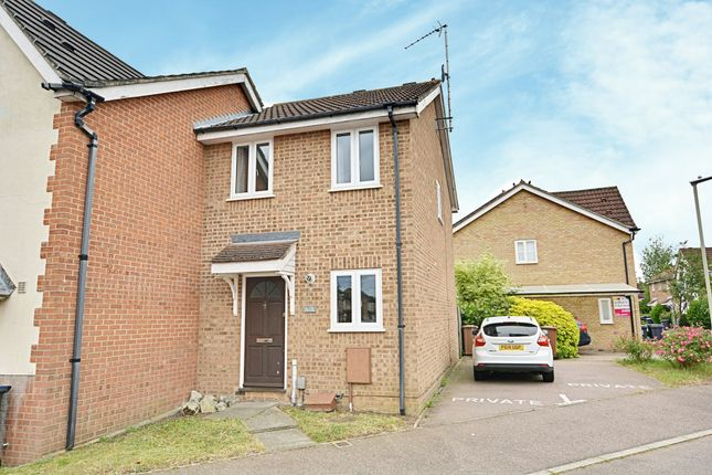 2 bed end terrace house to rent in The Copse, Hertford SG13
