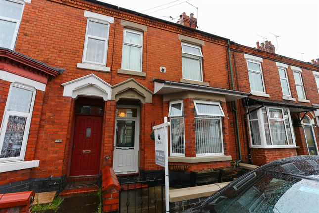 4 bed terraced house for sale in Walthall Street, Crewe CW2