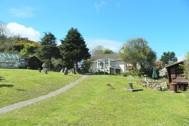 Thumbnail Detached bungalow for sale in Brea, Camborne