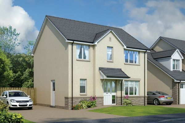 Thumbnail Detached house for sale in The Lomond, Rigghouse Road, Whitburn, West Lothian