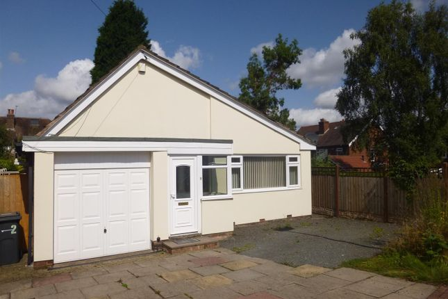 Thumbnail Detached bungalow to rent in Vernon Close, Sutton Coldfield