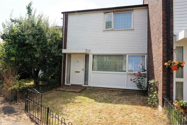Thumbnail Terraced house for sale in Carmarthen Close, Farnborough
