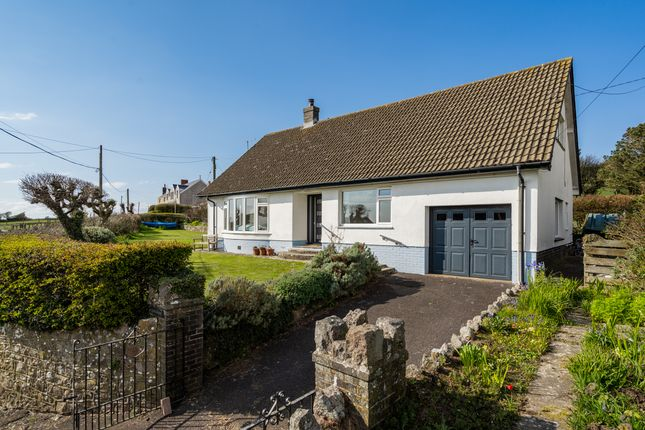 Thumbnail Detached bungalow for sale in Middleton, Rhossili, Swansea