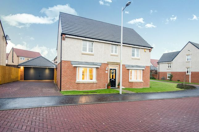 Thumbnail Detached house for sale in Pappin Drive, Motherwell