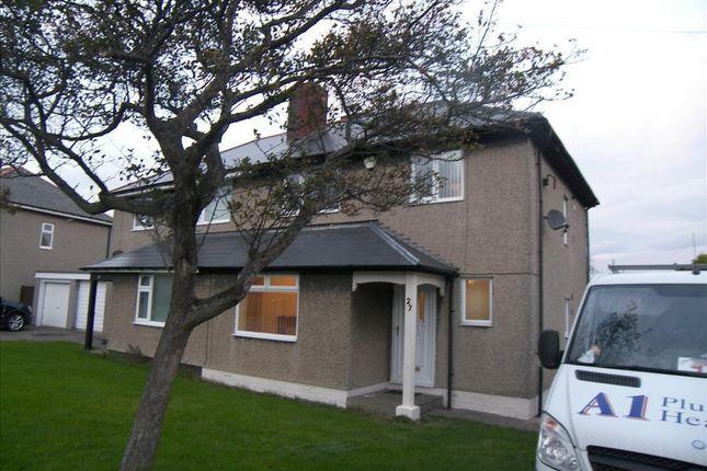 Thumbnail Semi-detached house to rent in Village Road, Cramlington