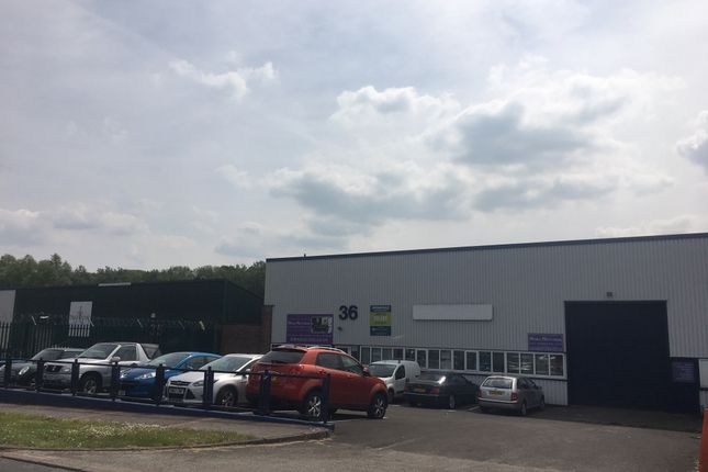 Thumbnail Industrial to let in 36, Springvale Industrial Estate, Cwmbran