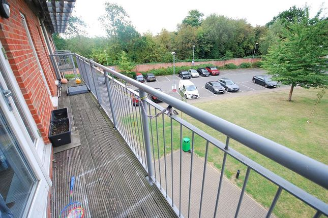 Balcony of King George Crescent, Wembley, Middlesex HA0