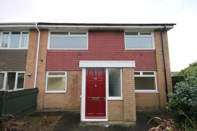 Thumbnail End terrace house to rent in Ashlands Road, Northallerton