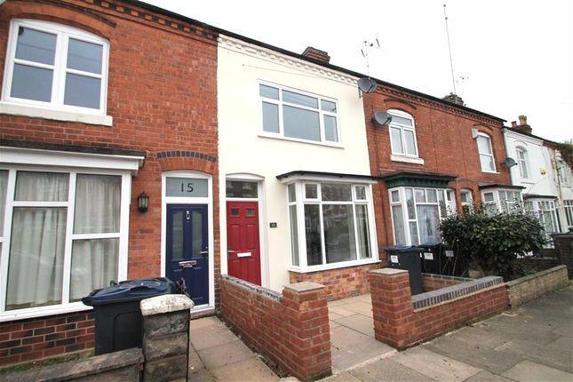 Thumbnail Terraced house for sale in Gordon Road, Harborne, Birmingham