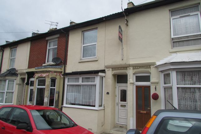 Thumbnail Terraced house to rent in Gruneisen Road, Portsmouth