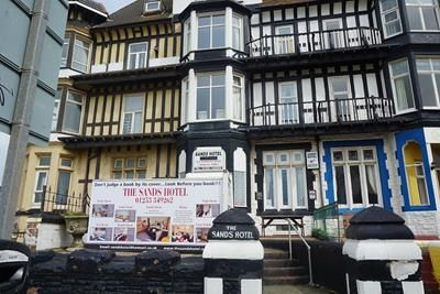 Thumbnail Hotel/guest house to let in Sands Hotel, 485 Promenade, Blackpool, Lancashire