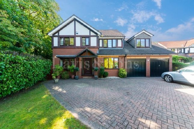 Thumbnail Detached house for sale in Tregarn Close, Langstone, Newport.