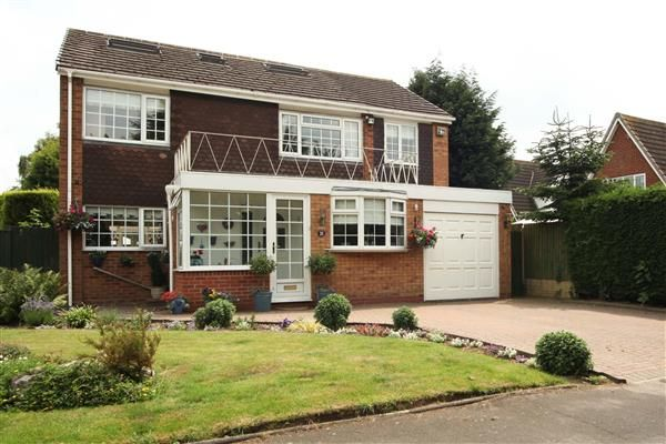 Thumbnail Detached house for sale in Glebe Fields, Curdworth, Sutton Coldfield